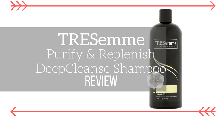 TRESemme Purify and Replenish Deep Cleanse Shampoo Review