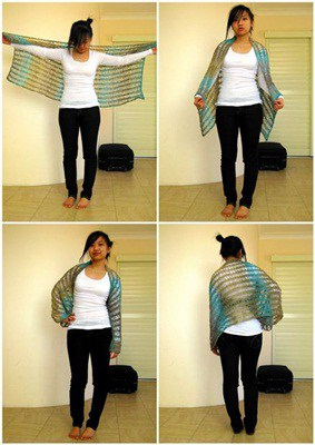 Knotted Shawl
