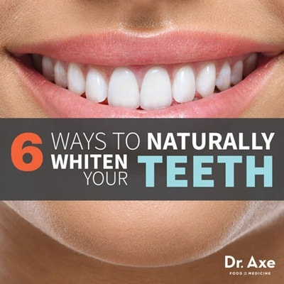 Natural Products to Whiten Teeth