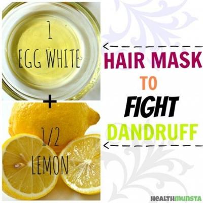 Egg White Mask for Dandruff