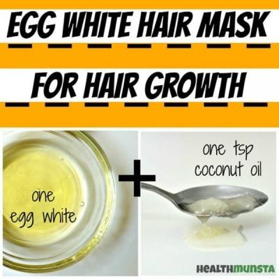 Egg White Masks for Hair Growth