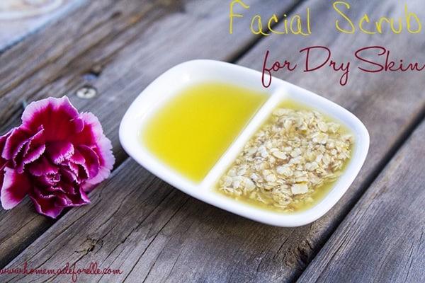 Facial Scrub for Dry Skin
