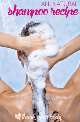 All Natural Shampoo